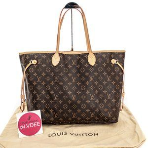 LOUIS VUITTON Neverfull GM Large Monogram Tote